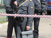 В дагестанском селе разгромили телерадиоцентр. police