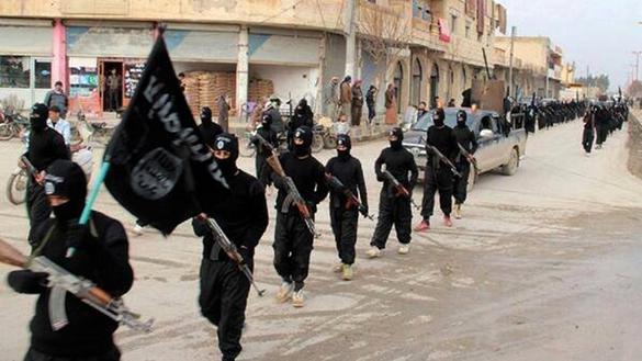 Исламское государство, черная процессия