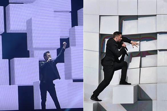 Участники Евровидения устроили шоу из песни Сергея Лазарева