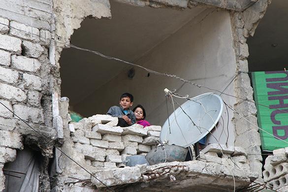 Российские дети покинули Ирак. Российские дети покинули Ирак
