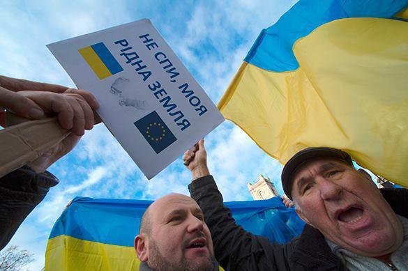 Работодатели ЕС заставляют украинцев носить жовто-блакитную одежду. Работодатели ЕС заставляют украинцев носить жовто-блакитную одеж