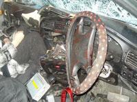 На петербургском шоссе столкнулись пять автомобилей