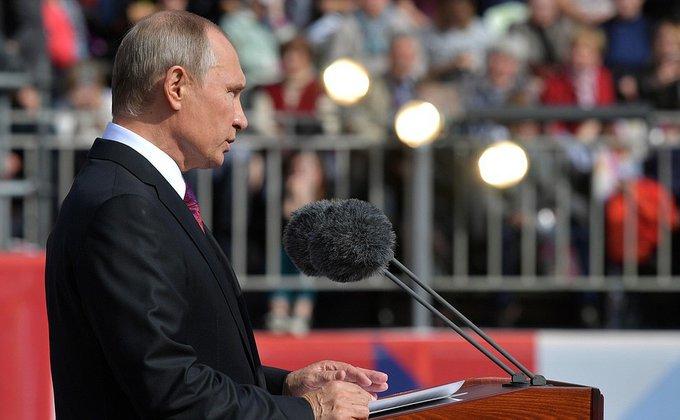 Президент России поздравил москвичей с юбилеем столицы. Президент России поздравил москвичей с юбилеем столицы