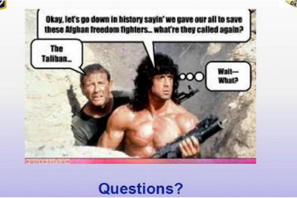 Пентагон опозорился с презентацией в PowerPoint. Пентагон опозорился с презентацией в PowerPoint
