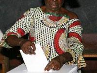 На выборы президента Конго пришли только 10 процентов