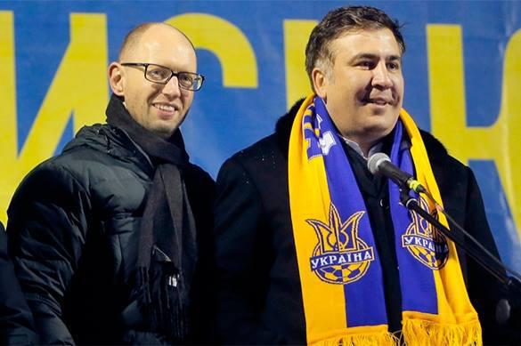 Саакашвили потушит звезду Яценюка - депутат горсовета.