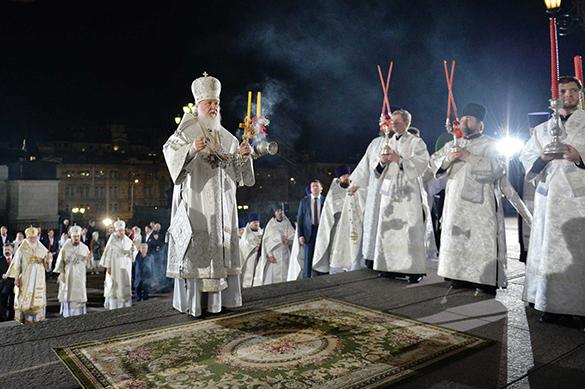 В пасхальных богослужениях приняли участие более 4,3 млн россиян. В пасхальных богослужениях приняли участие более 4,3 млн россиян