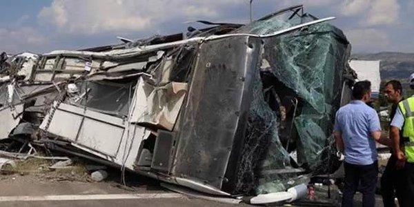 В аварии на МКАДе пострадали люди