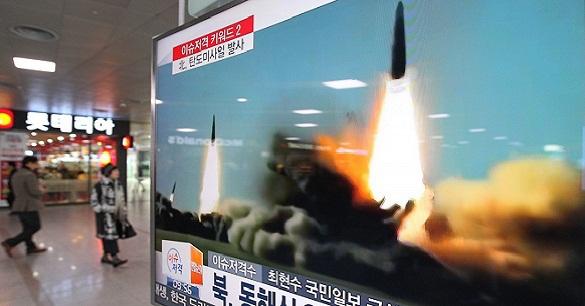 Сеул заявил об очередном запуске северокорейской ракеты. 372559.jpeg