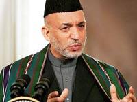 Карзай уверенно лидирует на выборах президента Афганистана