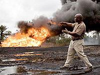 Нигерийские боевики напали на нефтяную платформу