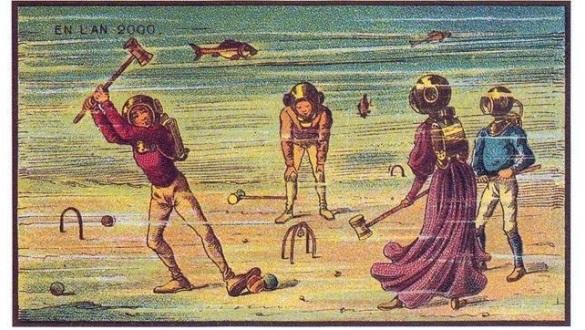 Крокет на дне моря