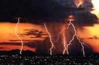 Молнии – предвестники землетрясений