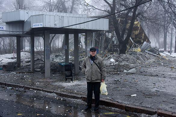 ИноСМИ: Жителей Донецка не выпускают из зоны боевых действий без спецпропусков. 309563.jpeg