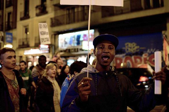Сотни мигрантов устроили погромы в Мадриде. 384563.jpeg