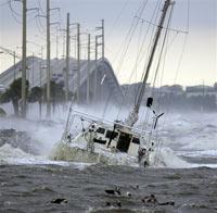 Рыболовецкое судно ушло на дно вместе с капитаном