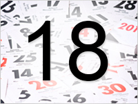 Листок календаря, 18