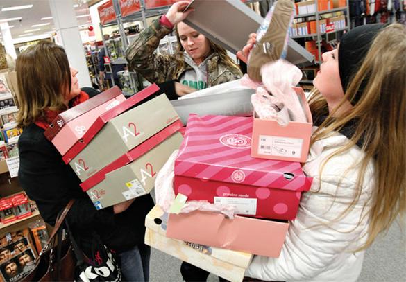 Рождественские распродажи - это обман