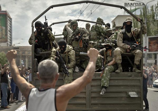 За Донбасс воюют люди со всего мира