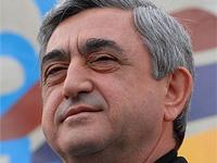 Президент Армении направил поздравления Медведеву