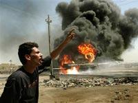 Авиация НАТО разбомбила базу афганской армии