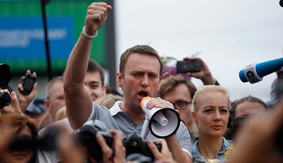 РОИ: Антикоррупционной петицией Навальный ввел россиян в заблуждение. Алексей Навальный, митинг