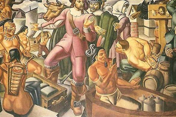На картине 1937 года обнаружен индеец с iPhone. 374568.jpeg