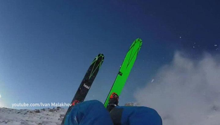 Малахов упал на спуске в Австрии