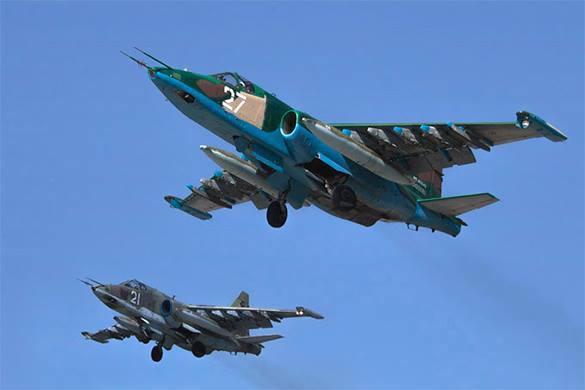 Российские  штурмовики Су-25 одолели ИГИЛ. 307570.jpeg