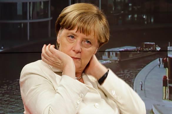 Меркель в белом