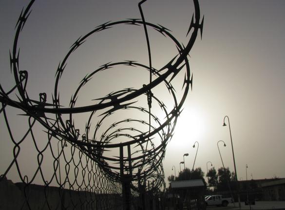 """По совету """"советника из Грузии"""" Украина может применить практику частных тюрем. колючая проволока зона"""