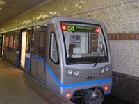 Поезда с кондиционерами появятся завтра в московском метро
