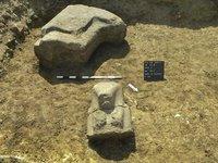 На юге Египта нашли огромную статую фараона. egipet