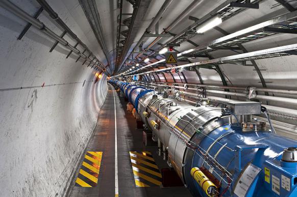 Российская разработка ускорит вычисления на Большом андронном коллайдере.