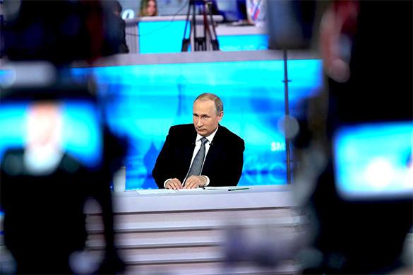 ФОМ: по соцопросам Путин выиграл выборы в первом туре. 374582.jpeg