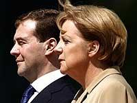 В ходе встречи Медведев и Меркель обсудят вопросы партнерства