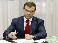 Медведев готовит послание Федеральному Собранию