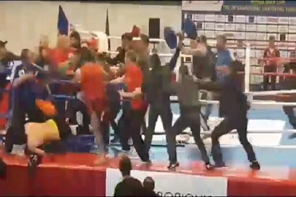 За Нагорный Карабах подрались на чемпионате кунг-фу... во Львове