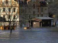 Северо-восток Чехии затопило