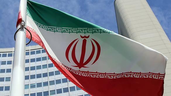 Иран задержал грузовое судно США. флаг Ирана