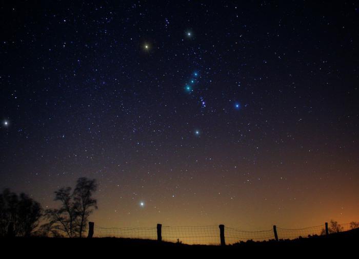 Небо звезды