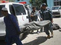 У афганской больницы взорвалось авто. Десятки жертв. afghan