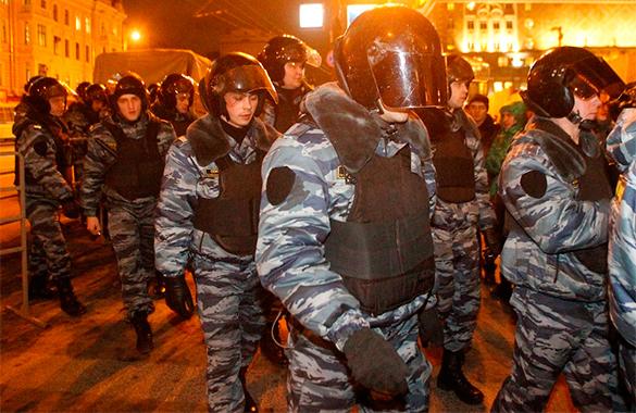 Полиция РФ сможет стрелять на поражение. Полиция РФ сможет стрелять на поражение