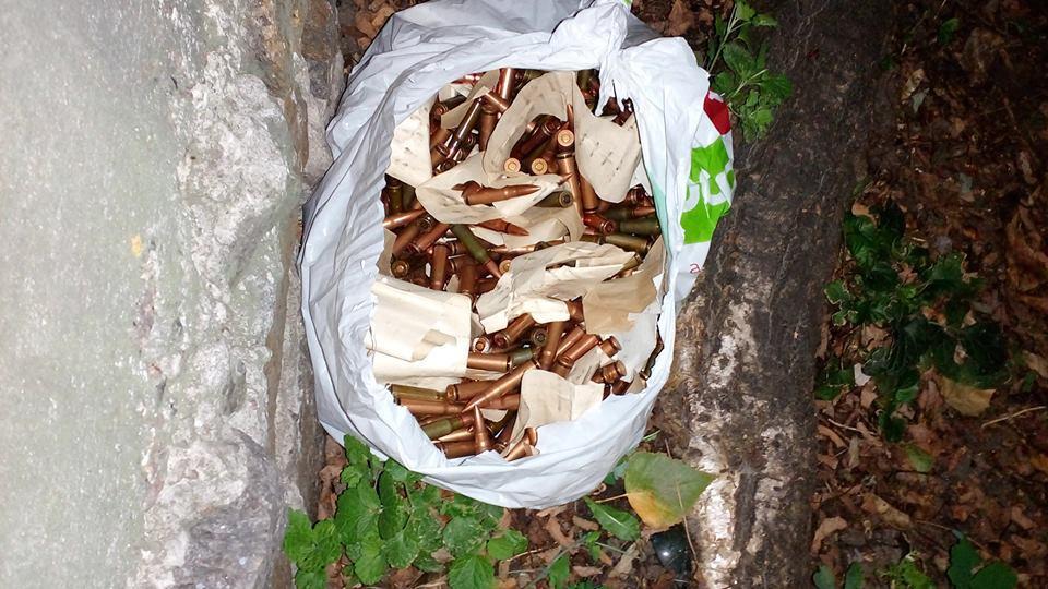 В Киеве у посольства Болгарии найден набитый патронами пакет. В Киеве у посольства Болгарии найден набитый патронами пакет