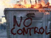 В Афинах произошли стычки между эмигрантами и полицией