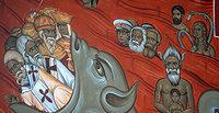 В Черногории споры вызвала фреска с горящими в аду Марксом, Энгельсом и Брозом Тито. 288589.jpeg