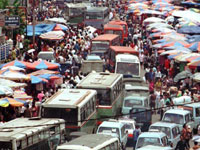 В Индонезии такси доступно даже нищим