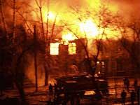 Лесной пожар заставил 2,5 тысячи человек покинуть свои дома
