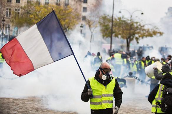 """Французские школьники придумали игру """"желтые жилеты против полиции"""". 397591.jpeg"""