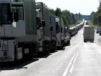 Российско-латвийская граница парализована